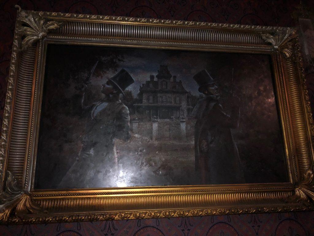 tableau animé Manoir Fantome