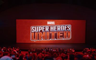 Marvel – L'Alliance des Super Héros : la captation vidéo